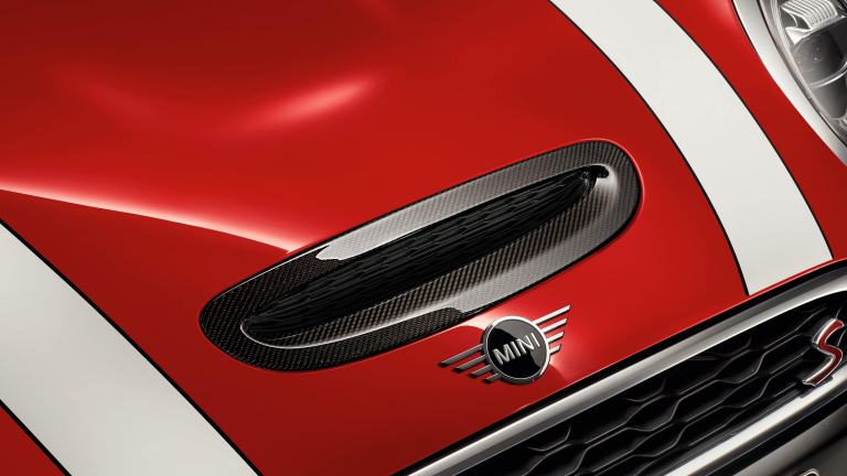 JCW Chrome Air Inlet Trim