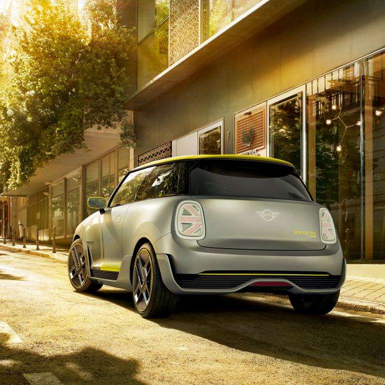 MINI Electric Concept – rear view