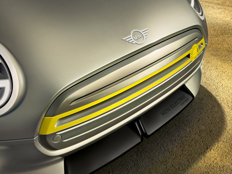 MINI Electric Concept – front close-up
